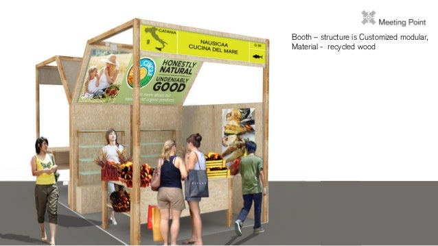 Slow food expo design - Food booth ideas ...