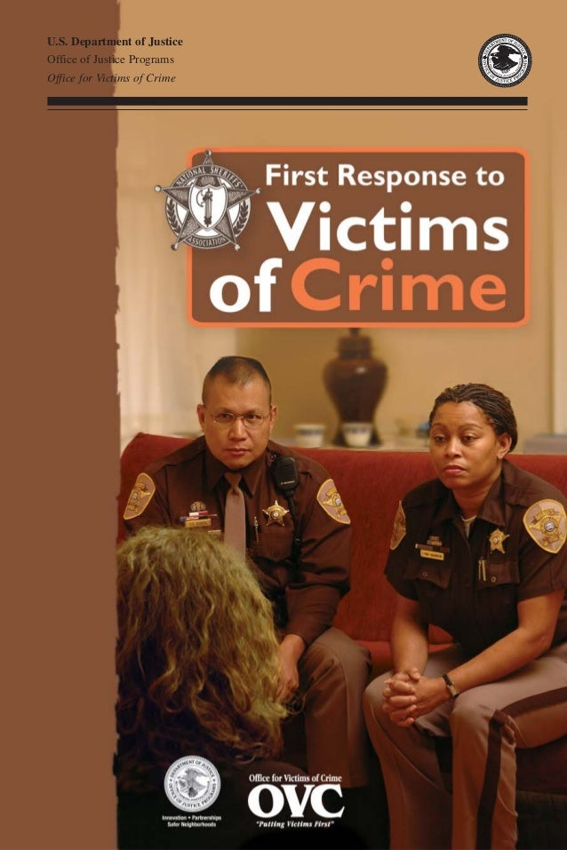 U.S. Department of Justice Office of Justice Programs Office for Victims of Crime