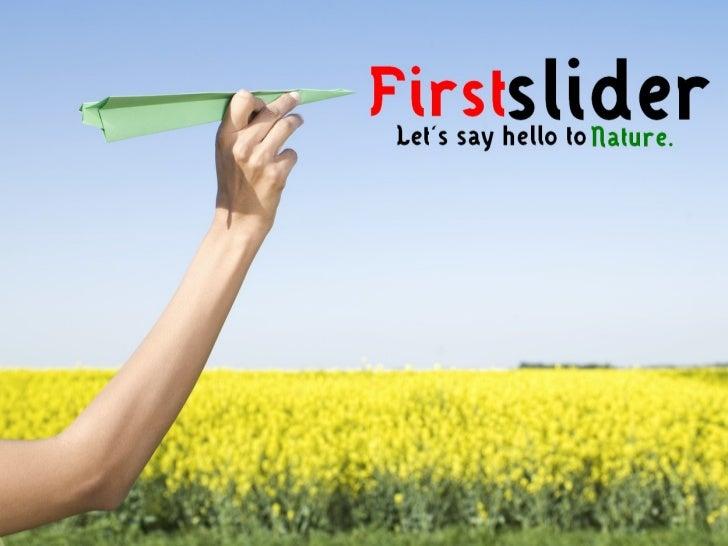 FirstSlider - Nature Powerpoint Template