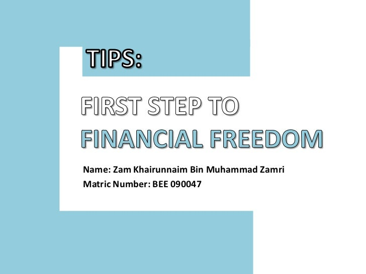 Name: Zam Khairunnaim Bin Muhammad ZamriMatric Number: BEE 090047