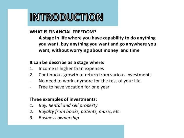 First step2financial freedom zam naim Slide 2