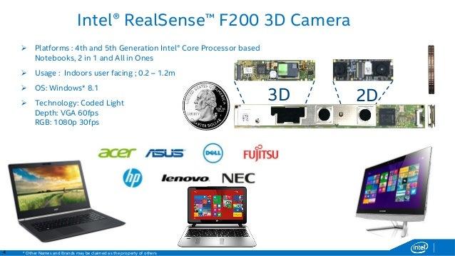 Intel RealSense 3D Camera Drivers Update