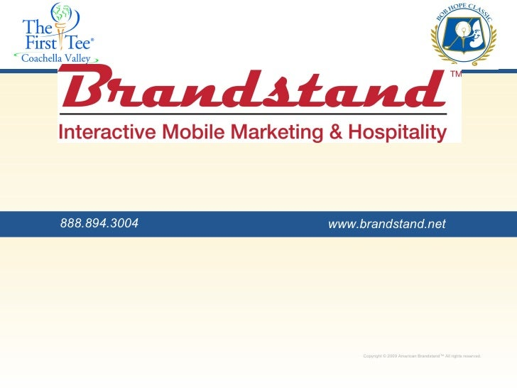 Copyright © 2009 American Brandstand™ All rights reserved.  Copyright © 2009 American Brandstand™ All rights reserved.  ww...