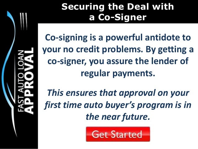 First Time Car Buyer Loan >> First Time Car Buyer Program : How to Score Better Rates ...