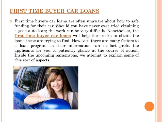 First time car buyers with no credit - 웹