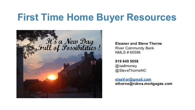 First Time Home Buyer Programs Nc Mortgage Questions Answered