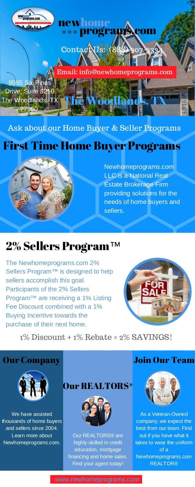 First Time Home Buyer Programs | New Home Programs