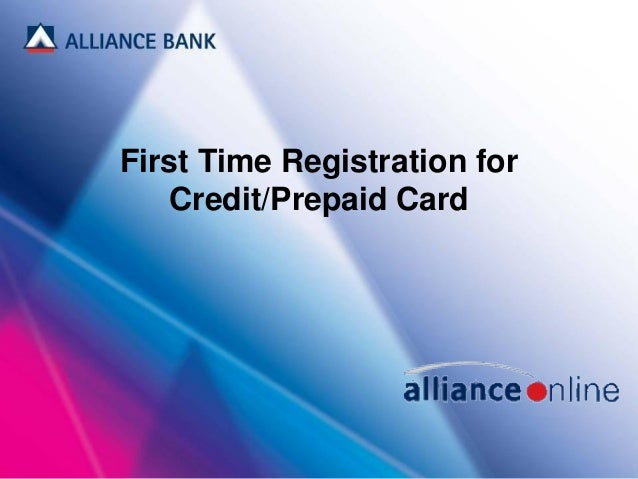 how to pay alliance credit card online