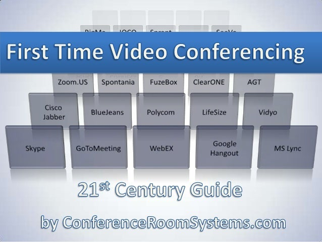Video Conferencing for the 21st Century Contents 1. Technology TimeLine 2. Types of Online Meetings 3. Common Uses for Vid...