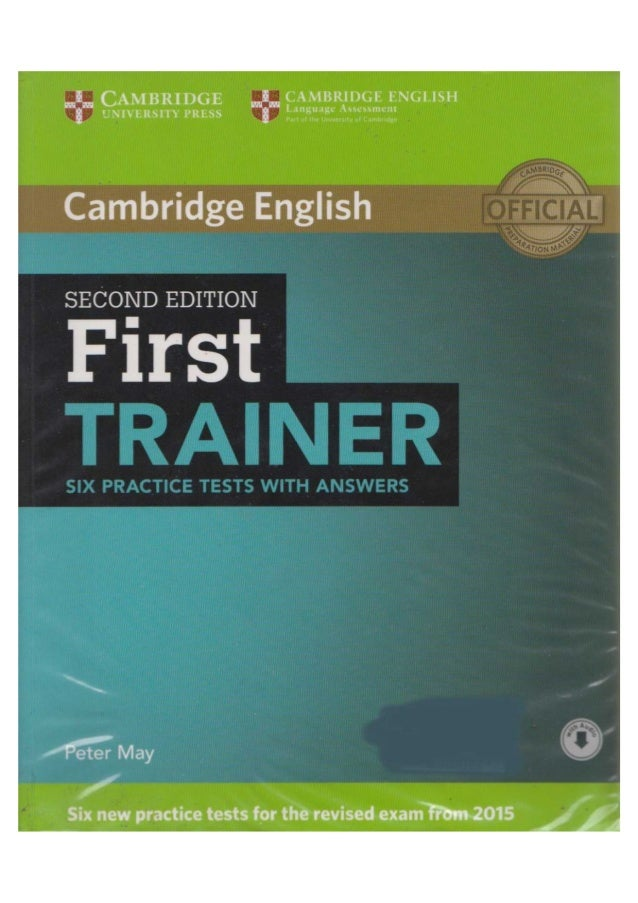 Cambridge First Trainer (Second Edition)