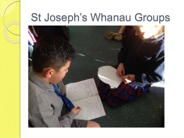 St Joseph's Whanau Groups