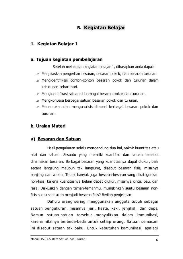 Fis 01 Sistem Satuan Dan Pengukuran