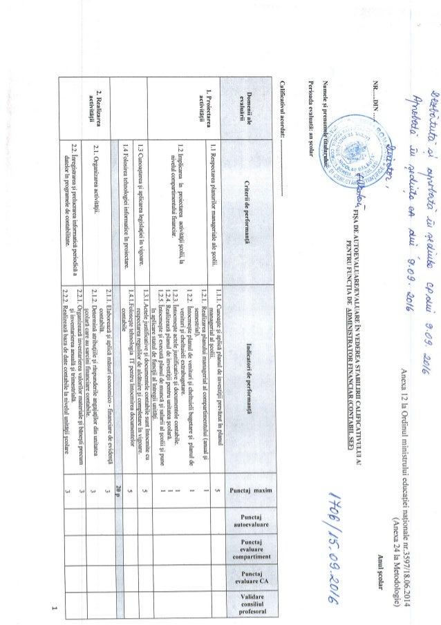 Fisa evaluare administrator financiar