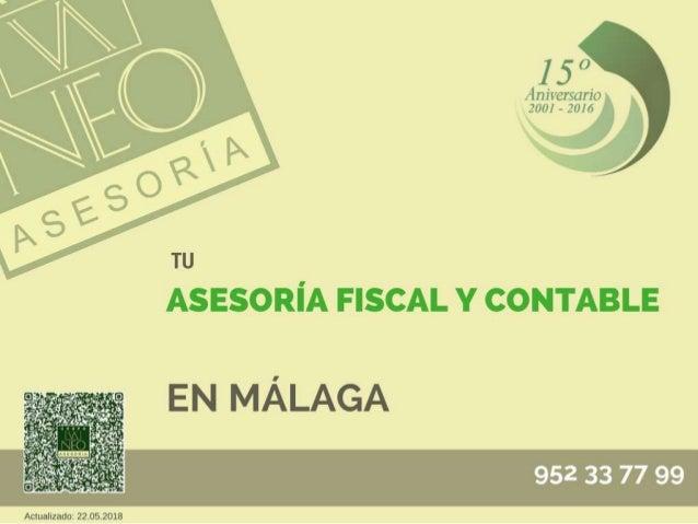 Asesoría fiscal en Málaga | ASESORÍA NEO