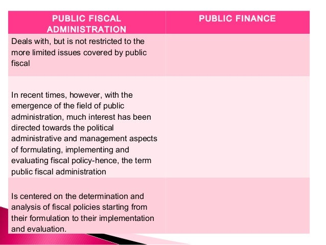 public fiscal administration Get this from a library philippine public fiscal administration [leonor magtolis- briones fiscal administration foundation.