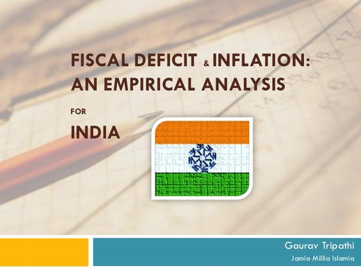 fiscal deficit and inflation