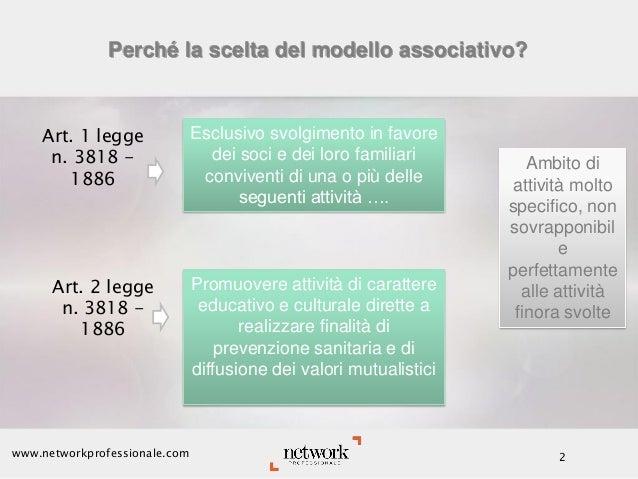 La fiscalità delle Mutue di pronto soccorso costituite in forma associativa Slide 2
