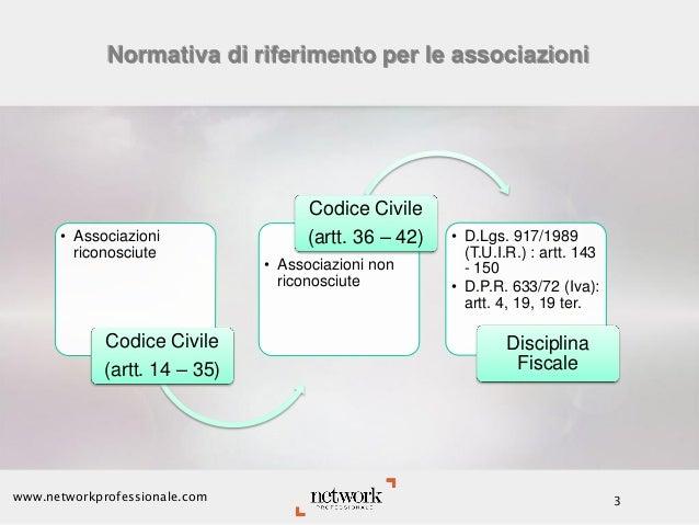 La fiscalità delle Mutue di pronto soccorso costituite in forma associativa Slide 3