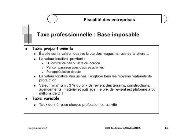 Fiscalite part 2 - Fiscalite location meublee non professionnelle ...