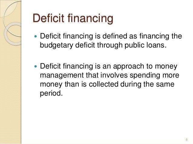 Nice Deficit Financing ...