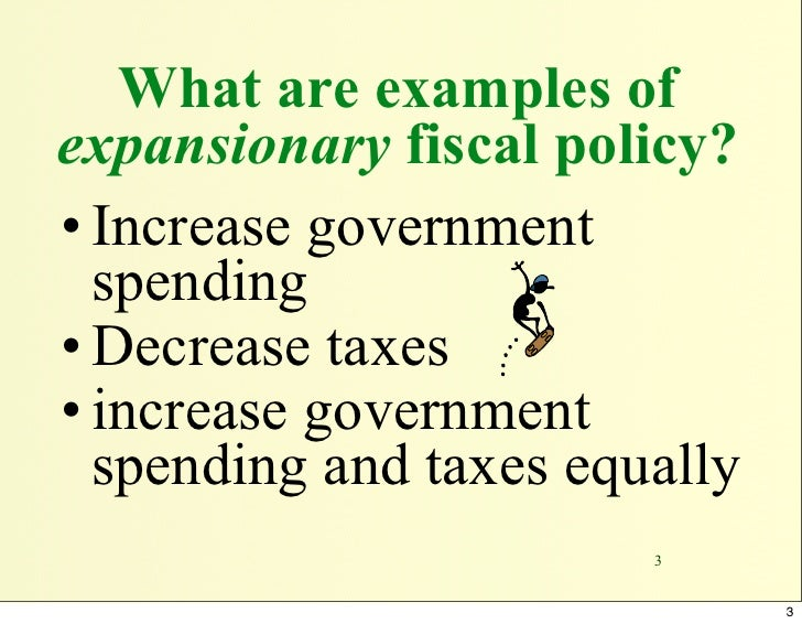 expansionary fiscal oplicy Using fiscal policy to fight recession, unemployment, and inflation in the case of expansionary fiscal policy and inward in the fiscal policy after the.