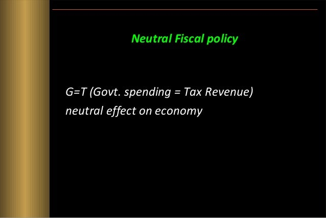 Expansionary Fiscal policy • Expansionary fiscal policy means that the government is increasing government spending and re...