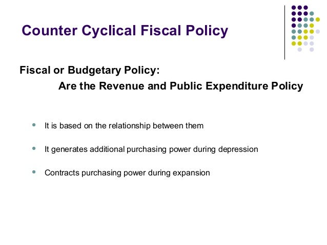 Fiscal policy Slide 3