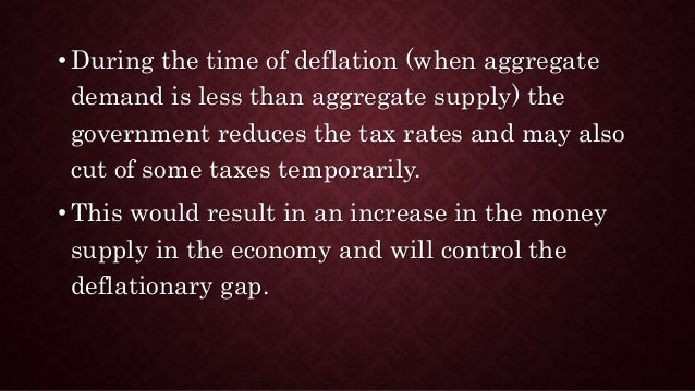 how can inflationary gap be controlled The sensitivity of inflation to domestic output gap nor to domestic monetary policy domestic monetary policy can still control domestic interest rates and so stabilise inflation (and output) the only way in which globalisation might matter is by challenging central banks in keeping inflation expectations fully.