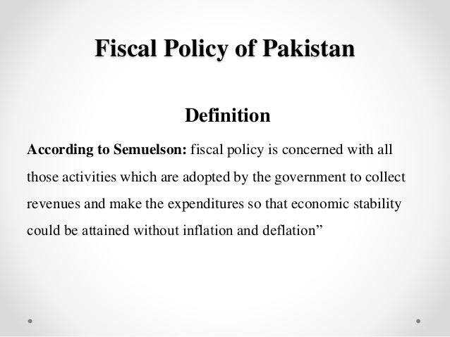 monetary policies in pakistan Estimate monetary policy reaction function for this purpose, taylor type rules  and mccallum rules are estimated using quarterly data of pakistan economy over .