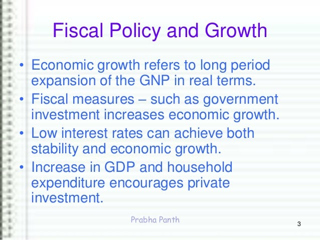 fiscal policy and economic growth in Nber program(s):economic fluctuations and growth one view of government  fiscal policy is that it stifles dynamic economic growth through the distortionary.