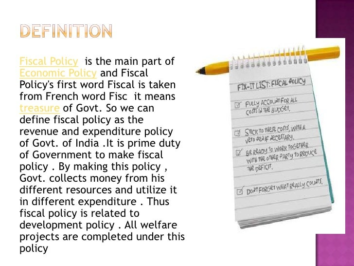 Me fiscal policy notes