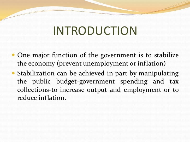 Fiscal Policy Ppt Slide 2