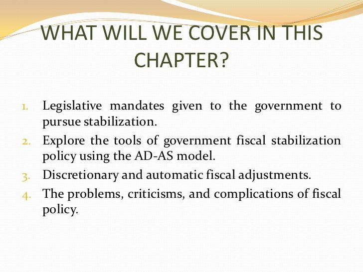 Fiscal Policy Ppt Slide 3