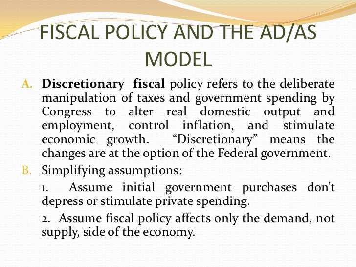 fiscal and monetary policies during the Monetary and fiscal policies during the great depression we have argued that monetary and fiscal policies could have been used to help the economy out of the great depression.