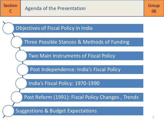 examples of fiscal policy in singapore