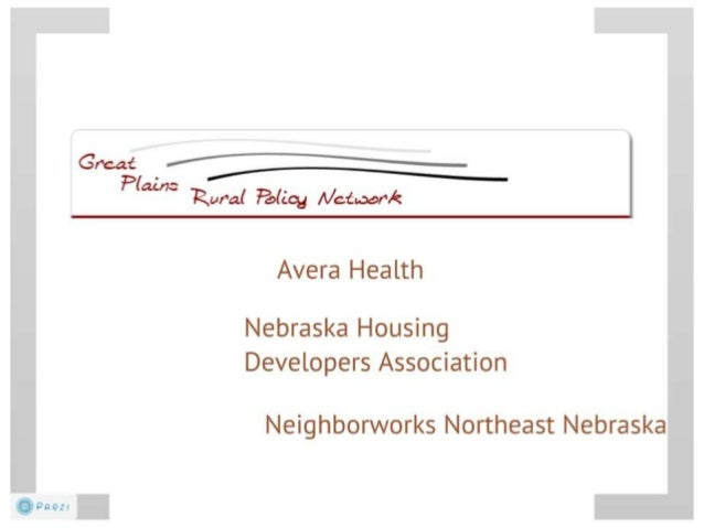 Lessons Learned in Advancing Rural Policy in the Great Plains States