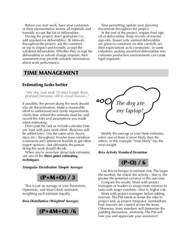 Fischi pmp best-practices-handout-20150327-b Slide 2
