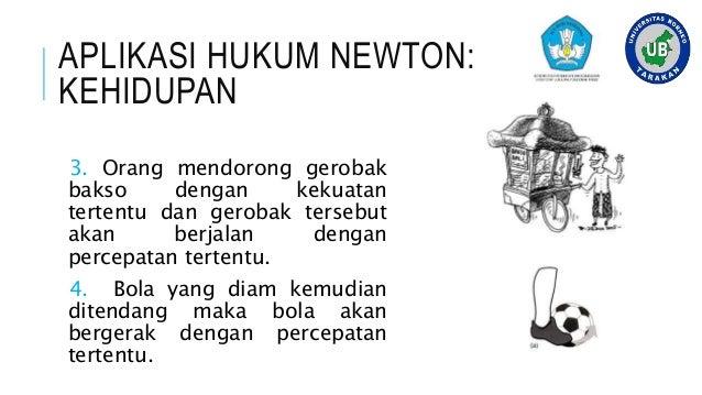 HUKUM NEWTON III- FISIKA DASAR, UNIVERSITAS BORNEO TARAKAN