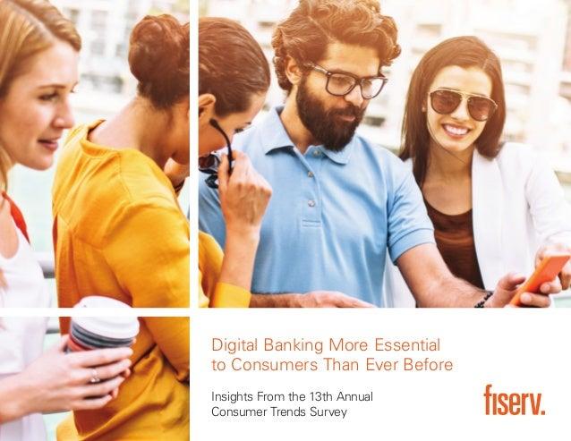 Fiserv Consumer Trends Survey