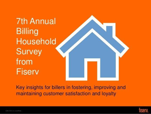 2014 Billing Household Survey from Fiserv
