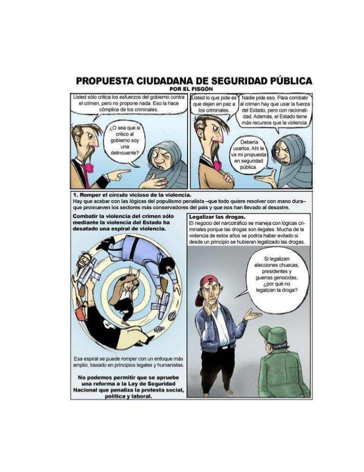 Fisgon propuesta ciudadana de seguridad publica