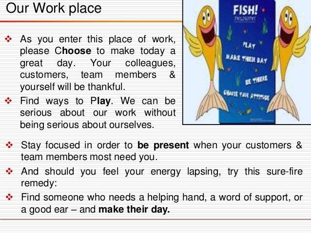 Fish Philosophy Book