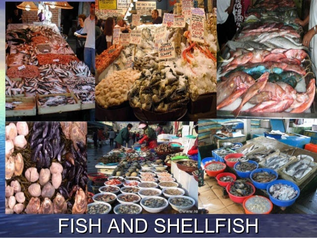 FISH AND SHELLFISHFISH AND SHELLFISH