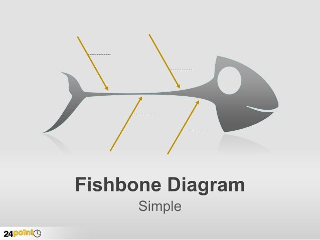 Fishbone Diagram  Editable Ppt Graphic