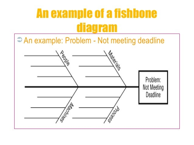 11  an example of a fishbone diagram