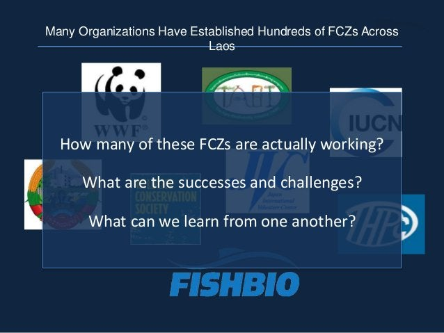 How many of these FCZs are actually working? What are the successes and challenges? What can we learn from one another? Ma...