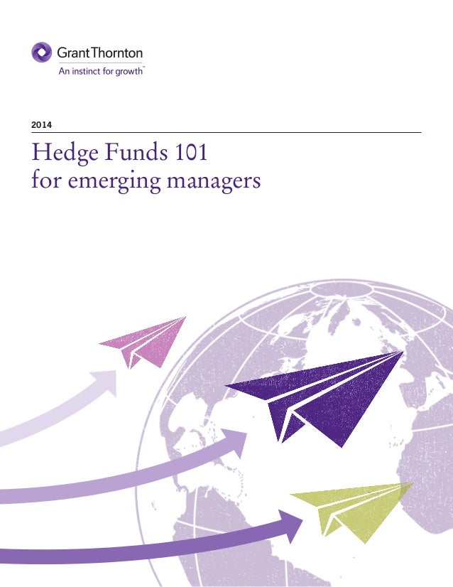 Hedge Funds 101 for emerging managers