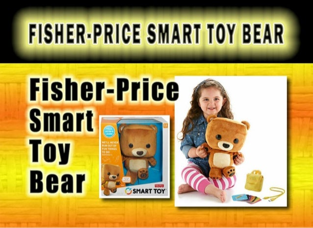 Best Smart Toys For Kids Reviewed : Fisher price smart toy bear review best xmas toys for