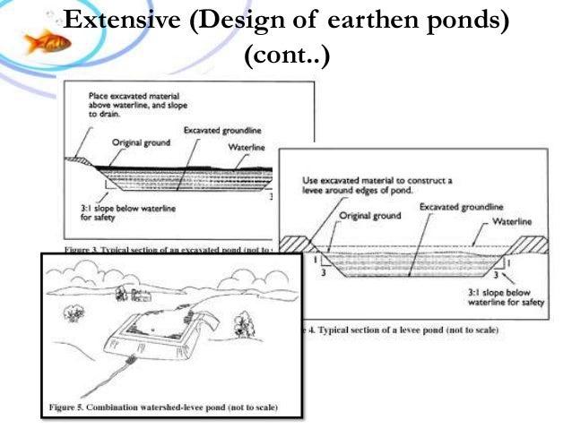 Fish Pond Design And Construction Fish farm design amp construction extensive design of earthen ponds cont workwithnaturefo