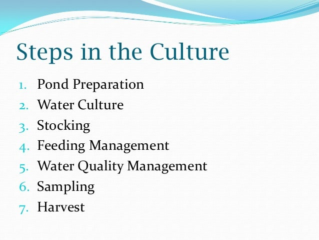 objectives of fish farming business